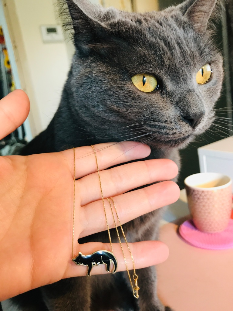 Cat Pendant Necklace - NanoStyle Jewelry